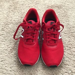 New Balance 24v1 Shoes; Red, 10